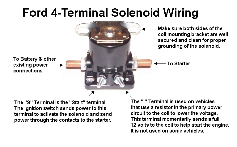 Auto Parts and Vehicles 2 12 Volt Starter Solenoid Relay Switch ...