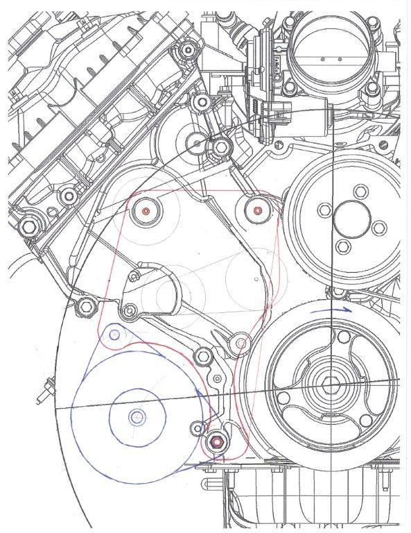 coyote engine diagram how to put a alternator on a 5 0 coyote in your hot rod factory  how to put a alternator on a 5 0 coyote