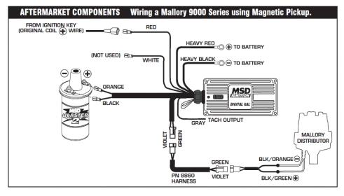 Autometer Tach And Msd Ignition, Autometer Tachometer Wiring Diagram