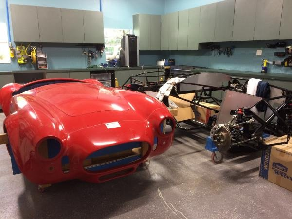 Showcase cover image for chrisarella's 1965 Factory Five Roadster
