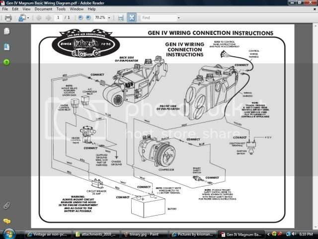 Installing the Vintage Air System | Factory Five Racing Forum on vintage air installs, how does central air work diagram, home a c system diagram, vintage air compressor, vintage air gen ii mini, vintage air controls, vintage air gen ii wiring, vintage air gen iv, auto air conditioning parts diagram, vintage auto wiring harness, ranger boat trailer parts diagram, auto a c system diagram, trailer electrical connectors diagram, vintage air plumbing diagram, vintage air complete kits, vintage air hose, vintage air ac installation, vintage air installation diagram, ac system diagram, vintage air ac line diagram,