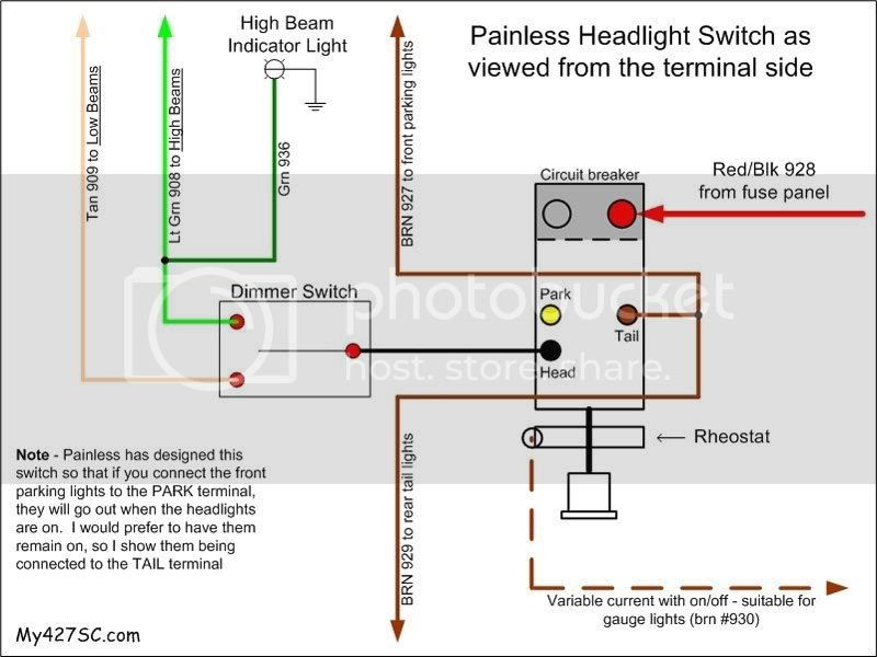 Headlight/Dimmer Switch Wiring | Factory Five Racing Forum on car light headlight diagram, 3 prong plug wiring colors, universal 4 position switch diagram, automotive headlight components diagram, 220 3 prong plug diagram, flasher relay wiring diagram, 3 prong ground plug diagram, 3 prong switch diagram, 3 prong flasher diagram, 3 wire range outlet diagram, hid with relay wiring diagram, hid kit wiring diagram, 3 prong stove outlet wiring, 2001 focus headlight wire diagram, 3 prong headlight connector, three prong plug diagram, latching relay wiring diagram, three-phase four-prong diagram,