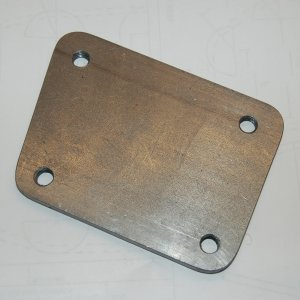 Steering Pillow Block Offset Plate