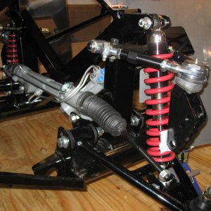 February 1, 2007 - Front Suspension and Power Steering Rack