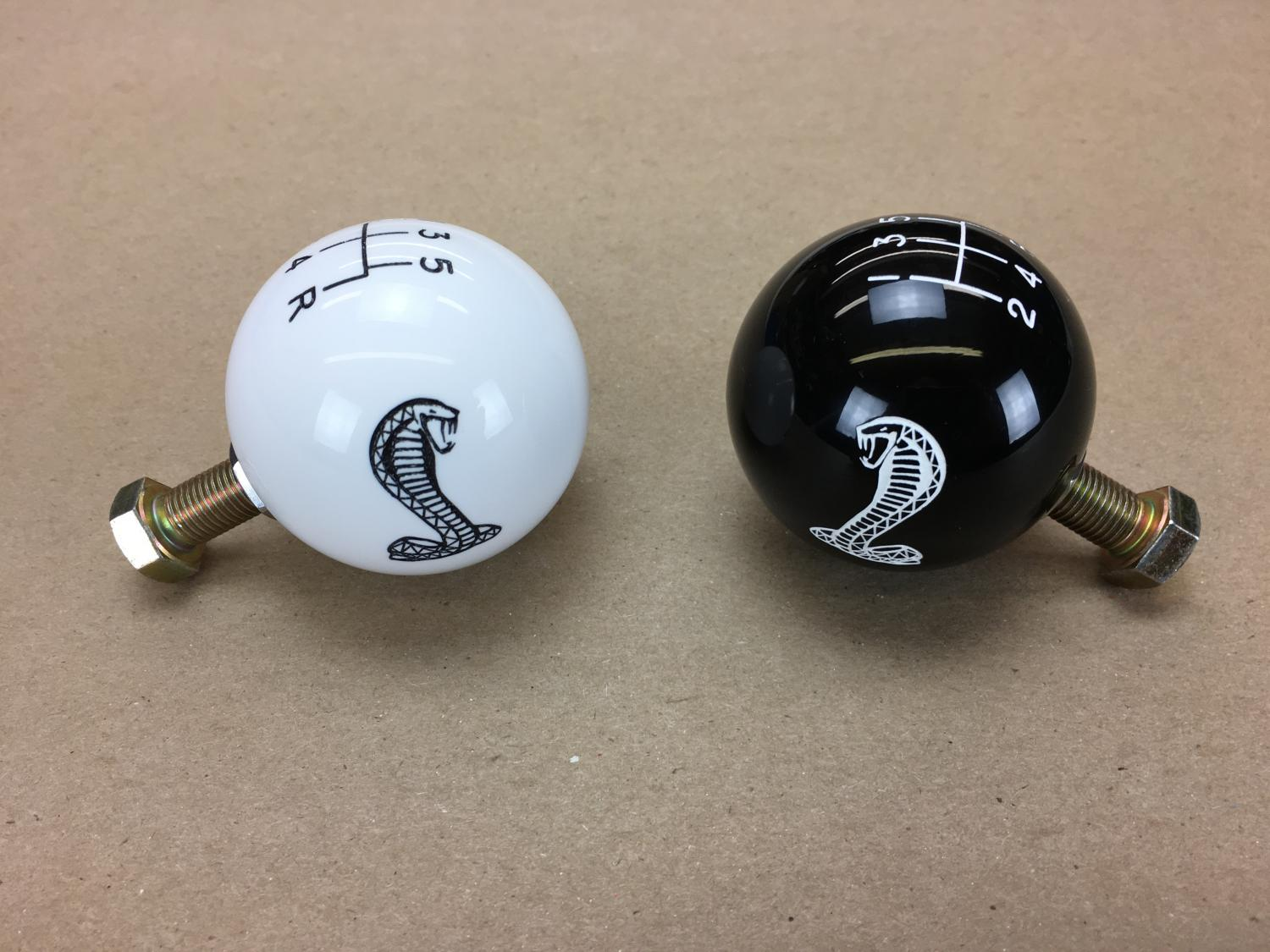 Cobra Engraved 5-Speed Shift Knobs + goodwill - FFCars com